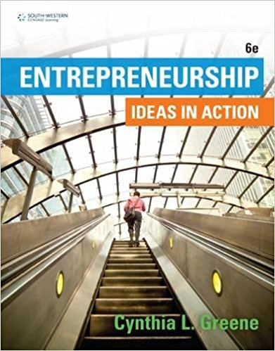 Entrepreneurship: Ideas in Action, 6th Edition RB-12-008
