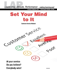 LAP-CR-004, Set Your Mind to It (Customer-Service Mindset) (Download) CR:004, Customer Service