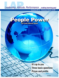 LAP-EC-015, People Power (The Private Enterprise System) (Download) Economic Systems, Economics, Free Enterprise, Enterpreneurship