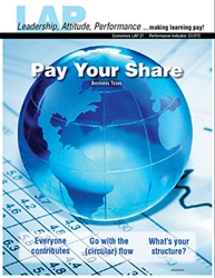 LAP-EC-027, Pay Your Share (Business Taxes) (Download) Economics, Entrepreneurship