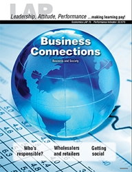 LAP-EC-070, Business Connections (Business and Society) (Download) Economics, Free Enterprise, Business Basics, Business Functions, LAP-EC-020