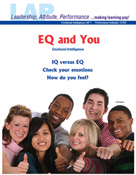 LAP-EI-001, EQ and You (Emotional Intelligence) (Download) Personal Development, Character Development, Workplace, LAP-EI-006