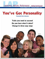LAP-EI-009, Youve Got Personality (Personality Traits in Business) Emotional Intelligence, Business Behavior, Work-based Learning, Co-op Work Experience, Community-based Learning
