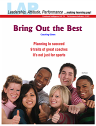 LAP-EI-041, Bring Out the Best (Coaching Others) (Download) LAP-EI-024, Emotional Intelligence, Leadership, Personal Development
