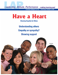 LAP-EI-030, Have a Heart (Showing Empathy for Others) (Download) LAP-EI-012, Emotional Intelligence, Workplace, Ethics