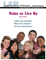 LAP-EI-123, Rules to Live By (Nature of Ethics) (Download) Emotional Intelligence, Problem Solving, Decision Making, Co-op
