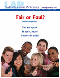 LAP-EI-127, Fair or Foul? (Demonstrating Fairness) (Download) Emotional Intelligence, Workplace, Co-op