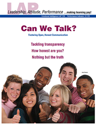 LAP-EI-129, Can We Talk? (Fostering Open, Honest Communication) (Download) Emotional Intelligence, Ethics