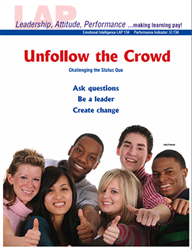 LAP-EI-134, Unfollow the Crowd (Challenging the Status Quo) (Download) Emotional Intelligence, Ethics