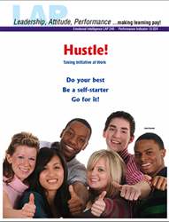 LAP-EI-240, Hustle! (Taking Initiative at Work) (Download) EI:024, LAP-EI-002, Emotional Intelligence