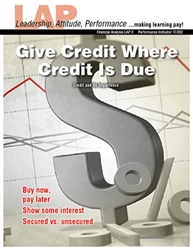 LAP-FI-002, Give Credit Where Credit Is Due (Credit and Its Importance) (Download) FI:002