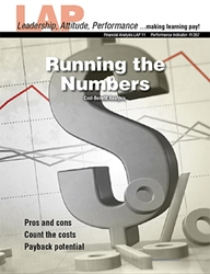 LAP-FI-011, Running the Numbers (Cost-Benefit Analysis) (Download) Financial Management, Management