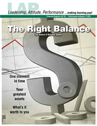 LAP-FI-093, The Right Balance (The Nature of Balance Sheets) (Download) FI:093, LAP-FI-010, Financial Management, Budgeting, Recordkeeping, Financing, Accounting