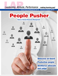 LAP-HR-035, People Pusher (Nature of Human Resources Management) (Download) Recruiting, Training, Employing, Careers