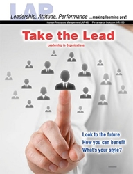 LAP-HR-493, Take the Lead! (Leadership in Organizations) (Download) HR:493, Management, Professional Development, Recruiting, Training, Employing, LAP-HR-036