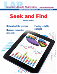 LAP-IM-010, Seek and Find (Marketing Research) (Download) IM:010, Information Management, Marketing, LAP-IM-005