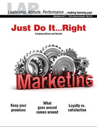 LAP-MK-003, Just Do It...Right (Company Actions and Results) (Download) Marketing, Management