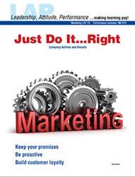 LAP-MK-019, Just Do It...Right (Company Actions and Results) (Download) LAP-MK-003, Marketing, Management