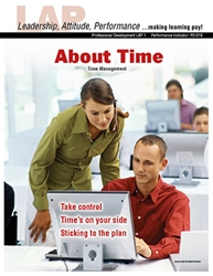 LAP-PD-001, About Time (Time Management) (Download) PD:019, Professional Development, Personal Development