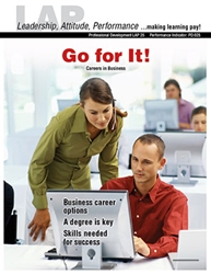 LAP-PD-025, Go For It! (Careers in Business) (Download) PD:025, LAP-PD-015, Professional Development