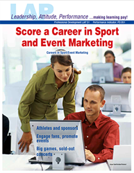 LAP-PD-051, Score a Career in Sport and Event Marketing (Careers in Sport/Event Marketing) (Download) PD:051, LAP-PD-006, Professional Development