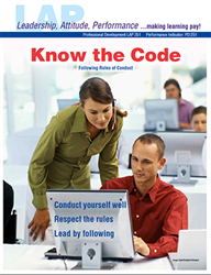 LAP-PD-251, Know the Code (Following Rules of Conduct) (Download) PD:251, Professional Development, Ethics