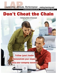 LAP-PD-252, Dont Cheat the Chain (Following Chain of Command) (Download) PD:252, Professional Development