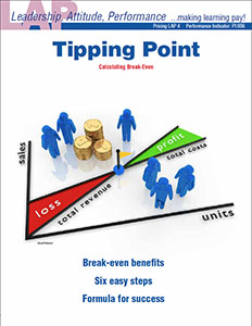 LAP-PI-004, Tipping Point (Calculating Break-Even) (Download) Pricing, Marketing, Budgeting, Recordkeeping, Financing, Math Applications