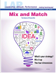 LAP-PM-003, Mix and Match (The Nature of the Product Mix) (Download) PM:003, Product Management, Product Planning, Branding