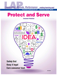 LAP-PM-007, Protect and Serve (Consumer Protection) (Download) PM:017, Product Management, Product Planning, Consumer Economics, Safety, Business Law
