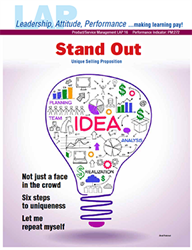 LAP-PM-016, Stand Out (Unique Selling Proposition) (Download) Product Management, Product Planning, Branding