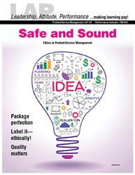 LAP-PM-040, Safe and Sound (Ethics in Product/Service Management) (Download) Emotional Intelligence, Workplace, Co-op