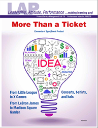 LAP-PM-079, More Than a Ticket (Elements of Sport/Event Product) (Download) LAP-PM-015, Product Management, Branding, Sports Marketing