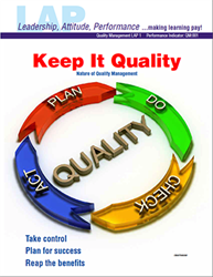 LAP-QM-001, Keep It Quality (Nature of Quality Management) (Download) QM:001