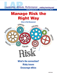 LAP-RM-041, Manage Risk the Right Way (Ethics in Risk Management) (Download)
