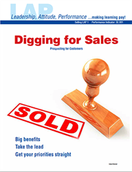 LAP-SE-001, Digging for Sales (Prospecting for Customers) (Download) SE:001, Selling, LAP-SE-116