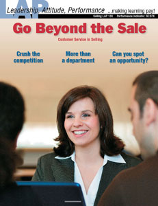 LAP-SE-130, Go Beyond the Sale (Customer Service in Selling) (Download)