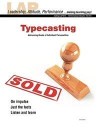 LAP-SE-810, Typecasting (Addressing Needs of Individual Personalities) (Download) LAP-SE-112, SE:810, Selling