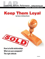 LAP-SE-828, Keep Them Loyal (Key Factors in Building Clientele) (Download) SE:828, LAP-SE-115, Selling