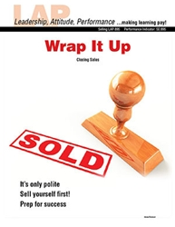 LAP-SE-895, Wrap it Up (Closing Sales) (Download) SE:895, LAP-SE-107, Selling