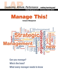 LAP-SM-003, Manage This! (Concept of Management) (Download) SM:001, Strategic Management, Planning