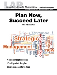 LAP-SM-007, Plan Now, Succeed Later (Nature of Business Plans) (Download) Management, Planning, Entrepreneurship, LAP-SM-001
