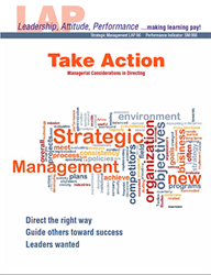 LAP-SM-066, Take Action (Managerial Considerations in Directing) (Download) SM:066, LAP-FI-008