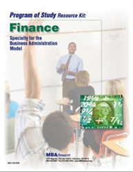 Program of Study Resource Kits: Finance (Download) MSC-09-006