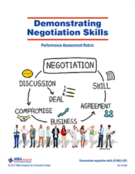 Rubric: Demonstrating Negotiation Skills (Download)