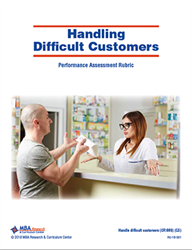 Rubric: Handling Difficult Customers