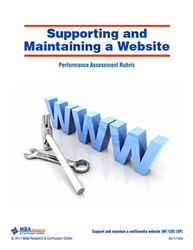 Rubric: Supporting and Maintaining a Website (Download)