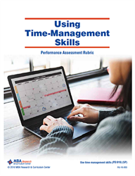 Rubric: Using Time-Management Skills