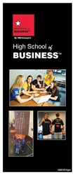 High School of Business Student Brochures
