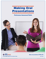 Rubric: Making Oral Presentations